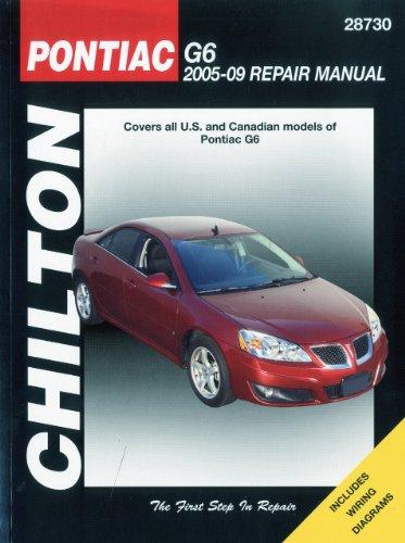 pontiac-g6-2005-09-repair-manual-chiltons-total-car-care-repair-manuals