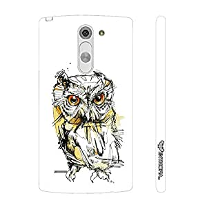 LG G3 Stylus Owl's Eye designer mobile hard shell case by Enthopia