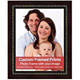 Averprint Photo Frame Personalized Picture Frame With Custom Photo / Your Image Print 8.5x11 Inch (21x28 Cm Framed)