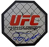 Forrest Griffin Autographed 8x8 UFC Octagon W/PROOF, Picture of Forrest Signing For Us, UFC, MMA, Sherdog, Ultimate Fighting Championship, The Ultimate Fighter, Stephan Bonner, Tito Ortiz, Shogun Rua, Hall of Fame
