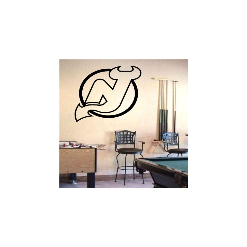 Wall Mural Vinyl Sticker Sports Logos Nhl new Jersey