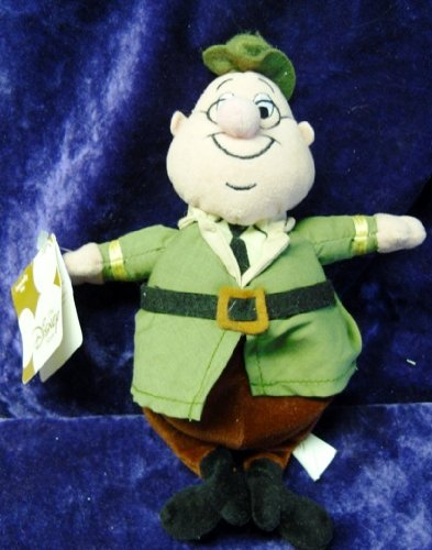 "Disney Mini Bean Bag 8"" The Ranger From the Movie ""Grin and Bear It"""