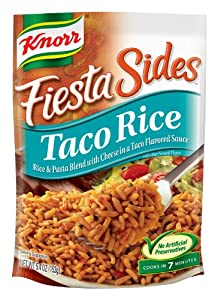 Knorr/Lipton Fiesta Sides, Taco Rice, 5.4-Ounce Packages (Pack of 12)