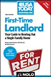 img - for First-Time Landlord: Your Guide to Renting Out a Single-Family Home (First Time Landlord) book / textbook / text book