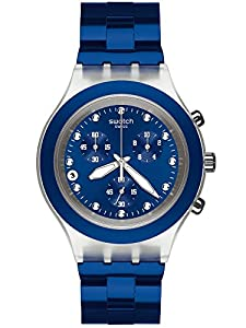 Swatch Full-Blooded Navy Unisex Watch SVCK4055AG