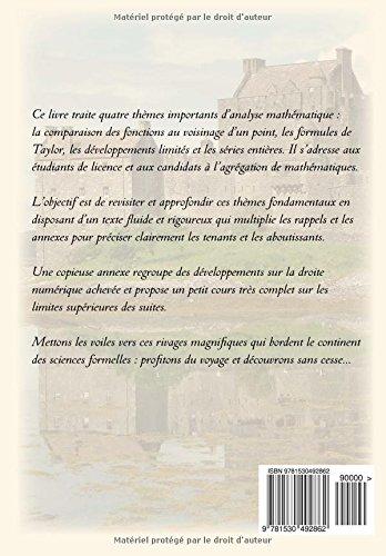 Formules de Taylor et développements limités: Volume 13 (Dossiers mathématiques)