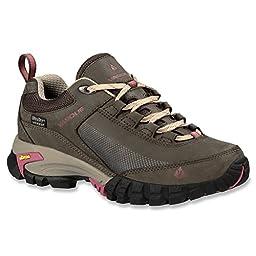 Vasque Women\'s Talus Trek Low UltraDry Hiking Shoe, Black Olive/Damson, 6.5 M US