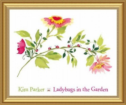 Barewalls Wall Decor by Kim Parker, Lady Bugs in the Garden