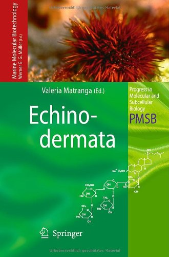 Echinodermata (Progress in Molecular and Subcellular Biology / Marine Molecular Biotechnology)