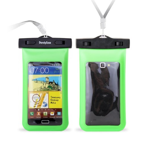 DandyCase Neon Green Waterproof Case for Apple