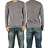 (エンポリオアルマーニ)EMPORIO ARMANI EA7 メンズロングTシャツ 273703 4A206 グレー [並行輸入商品]