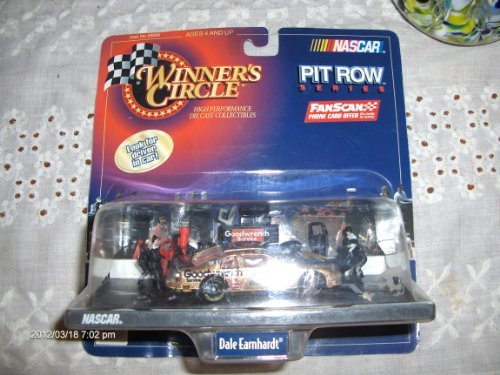 Winner's Circle - NASCAR - Pit Row Series - Dale Earnhardt/Goodwrench-Bass Pro Shops #3 Pit Row/Pit Stop Diorama w/interconnecting base and accessories - 1