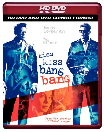 Cover art for  Kiss Kiss Bang Bang (Combo HD DVD and Standard DVD)