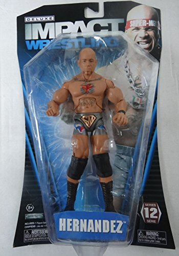 TNA Wrestling Deluxe Impact Series 12 Action Figure Hernandez