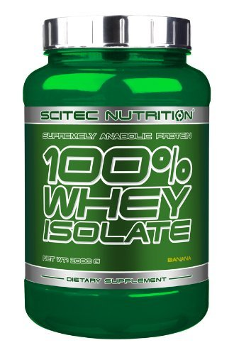Scitec Nutrition 100% Isolate Whey Protein Shake - 2000G, Banana