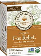 Gas Relief, Herbal Tea, Traditional Medicinals, 16 Wrapped Tea Bags