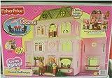 Fisher-Price Loving Family Grand Dollhouse Twin Time Bonus Patio Furniture Set