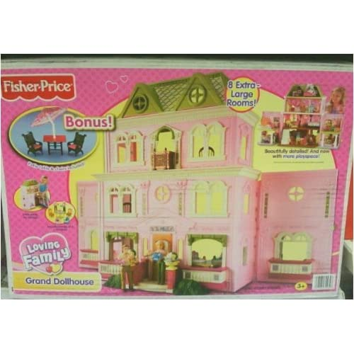 Dollhouse Furniture Discount Fisher Price Year Loving: Amazon.com: Fisher-Price Loving Family Grand Dollhouse