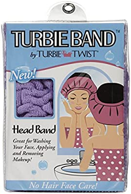 Turbie Twist Band, Purple