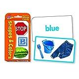 Trend Enterprises ポケットサイズ フラッシュカード(子供向け英単語 学習カード)形と色