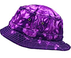 Colortone Bucket Hats Youth Spider Purple