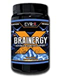 Brainergy-X (120 Capsules): BEST Rated Brain + Energy Supplement: Focus, Brainpower Enhancing, Nootropic. Premium, Caffeine + L-Theanine. Safe Product! 100% EVO-X Platinum Guaranteed!