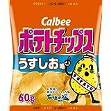 Amazon.co.jp: カルビー ポテトチップス うすしお味 60g×12個: 食品&飲料