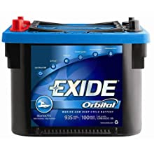 Exide Orbital ORB34DC-36 Sealed VRLA (AGM) Deep-Cycle Marine/RV Battery