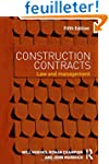 Construction Contracts: Law and Manag...