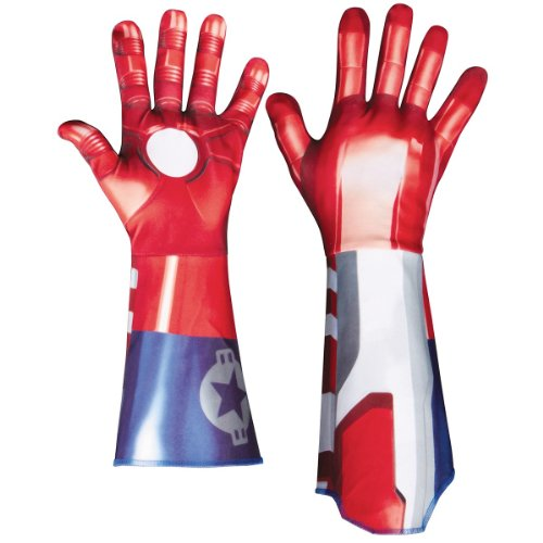 Iron Patriot Deluxe Adult Gloves Costume Accessory