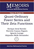 img - for Quasi-ordinary Power Series and Their Zeta Functions (Memoirs of the American Mathematical Society) book / textbook / text book