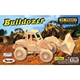 Puzzled Bulldozer 3D Jigsaw Puzzle (63-Piece), 8.5 x 4 x 4 by Puzzled