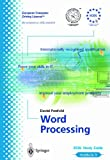 David Penfold Ecdl Module 3: Word Processing: Ecdl the European PC Standard (European Computer Driving Licence)