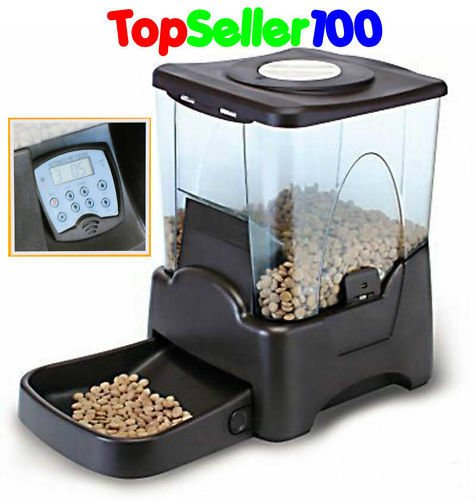 Automatic Dry Food Portion Control Pet Feeder For Feeding Cats And Dogs Timely