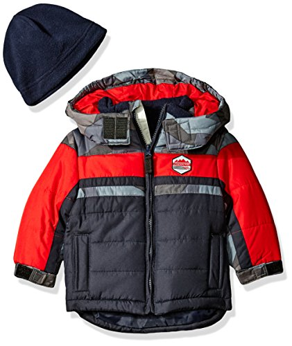 london-fog-baby-classic-heavyweight-color-block-bubble-jacket-with-hat-navy-24-months