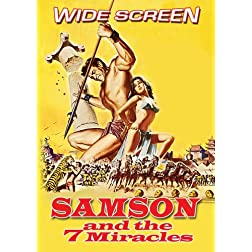 Samson and the 7 Miracles (Bonus Feature: Ali Baba and the 7 Saracens)