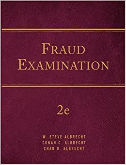 fraud examination albrecht About the authors w steve albrecht is a professor of accountancy in the marriott school of management and andersen alumni professor at brigham young university dr albrecht, a certified public accountant (cpa), certified fraud examiner (cfe), and certified internal auditor (cia), came to byu in 1977 after teaching at.