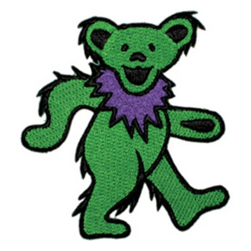 Application Dancing Bear Green Patch