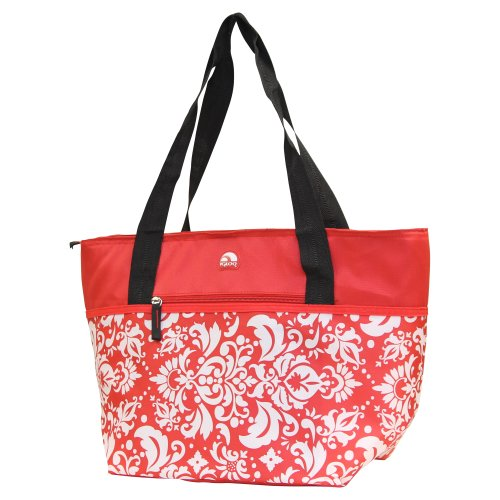 Igloo Insulated Shopper Cooler Tote Bag - Red front-908816