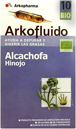 ARKOFLUIDO Alcachofa Hinojo 10 días (10 ampollas de 15 ml)