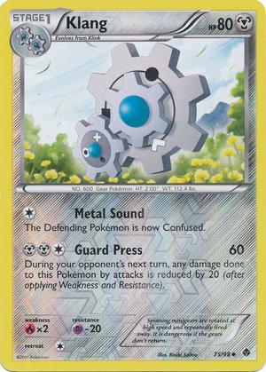 Pokemon - Klang (75) - Emerging Powers - Reverse Holo
