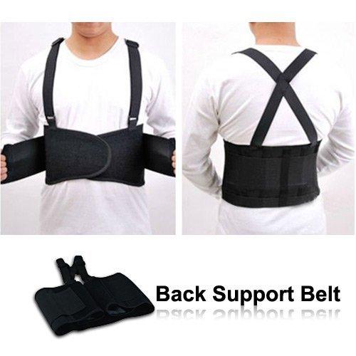 Home Care Wholesale®-Cintura di sostegno per la schiena per protezione e supporto muscolare/Correttore di postura spalla/DOLORE MUSCOLARE sollievo