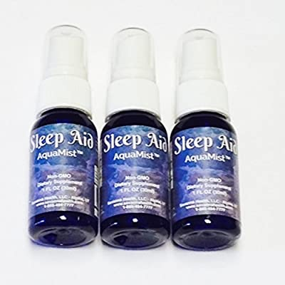 Improved Sleep - Natural Extract Supports Balanced Serotonin & Melatonin for Temporary Relief from Sleeplessness, Stress, Anxiousness - Boosts Mood & Feelings of Well-being - No Dependency - 3 bottles