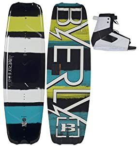 Buy Byerly Monarch Wakeboard 54 w  Standard Boots Mens Sz Std (7-10.5) by Byerly