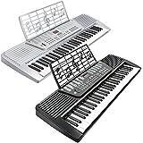 Hamzer 61 Key Electronic Music Electric Keyboard Piano - Black