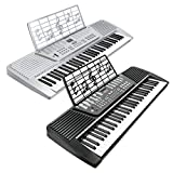 Hamzer 61 Key Electronic Music Piano Keyboard - Silver