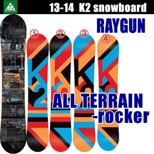 K2 (K2) 13-14 RAYGUN-Raygun, k2 snowboards snowboard plate 150 cm (3): Blue
