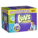 Luvs With Ultra Leakguards Size 2 Diapers 216 Count