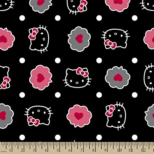 Hello-Kitty-Thoughts-of-Love-Bubble-Fabric-by-The-Yard