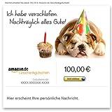 Amazon.de Gutschein per E-Mail (Verspäteter Geburtstag)